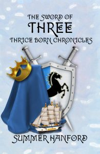 The Sword of Three Front Cover New